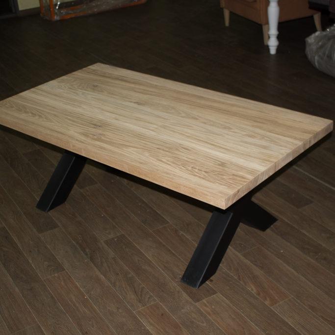 ek soffbord med metall ben