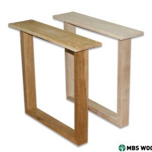 trä matbord ben