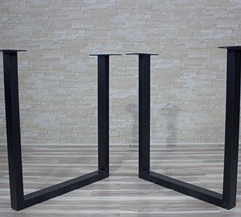legs for table 11 Metallben för bord