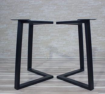 legs for table 9 Metallben för bord