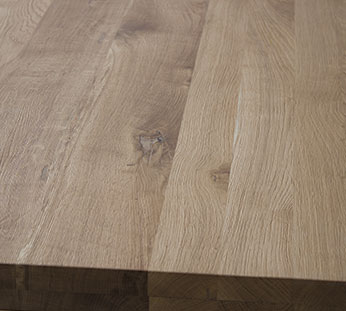 oak tabletop13 Produktion av bordsskivorna