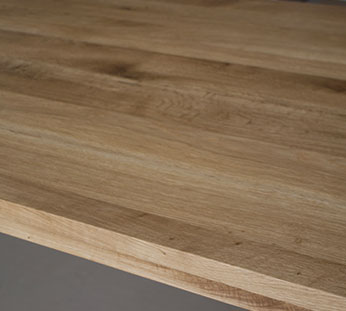 oak tabletop14 1 Produktion av bordsskivorna
