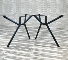 Metal legs mbs 4 Metallben för bord