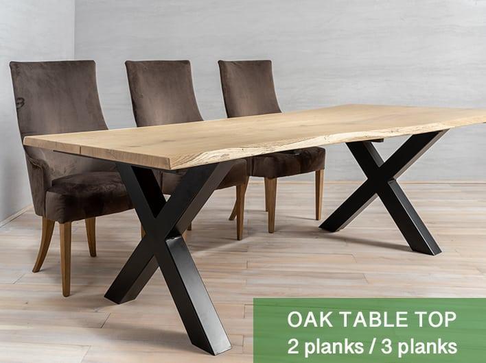 Ek bordsskivor 2/3 plankor