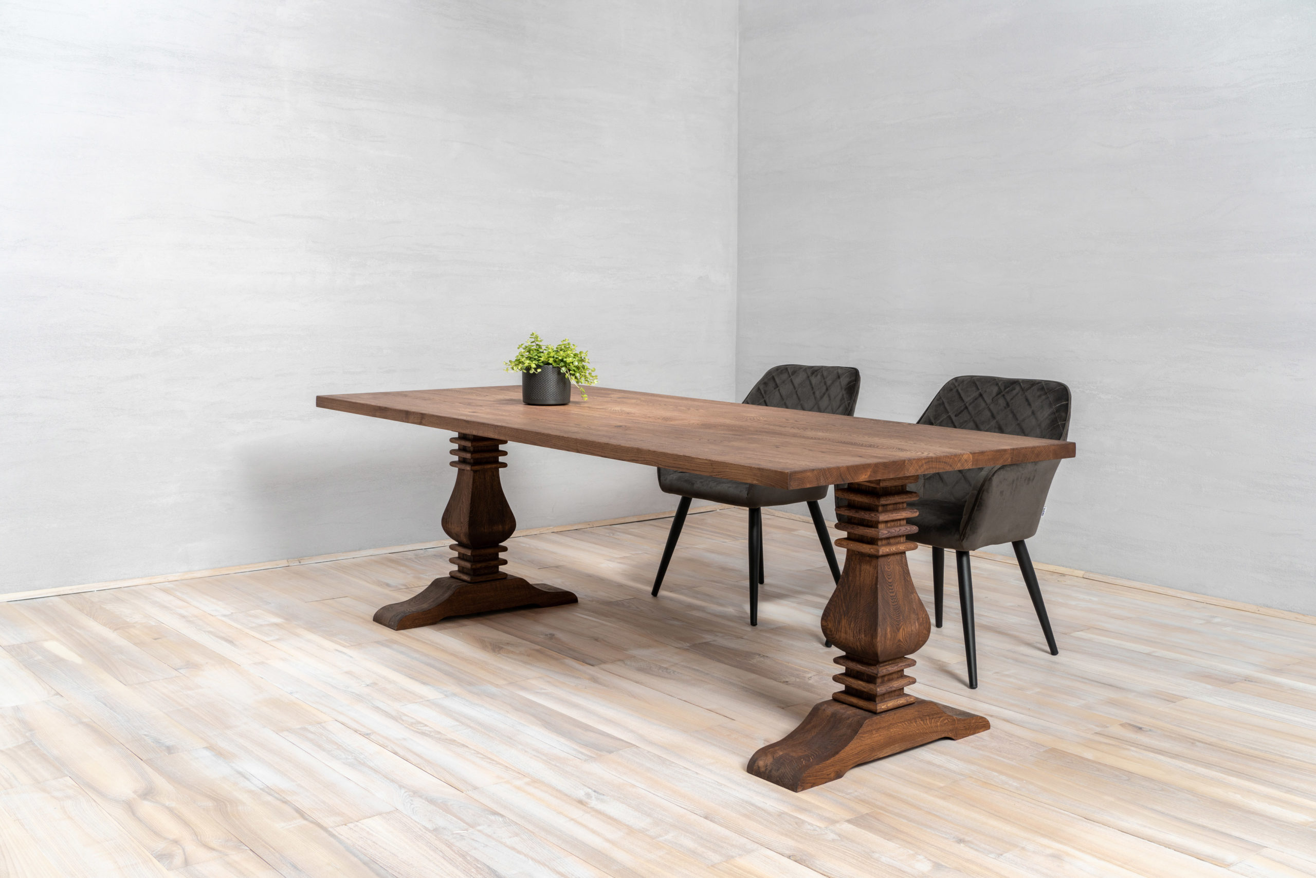 solid oak table top