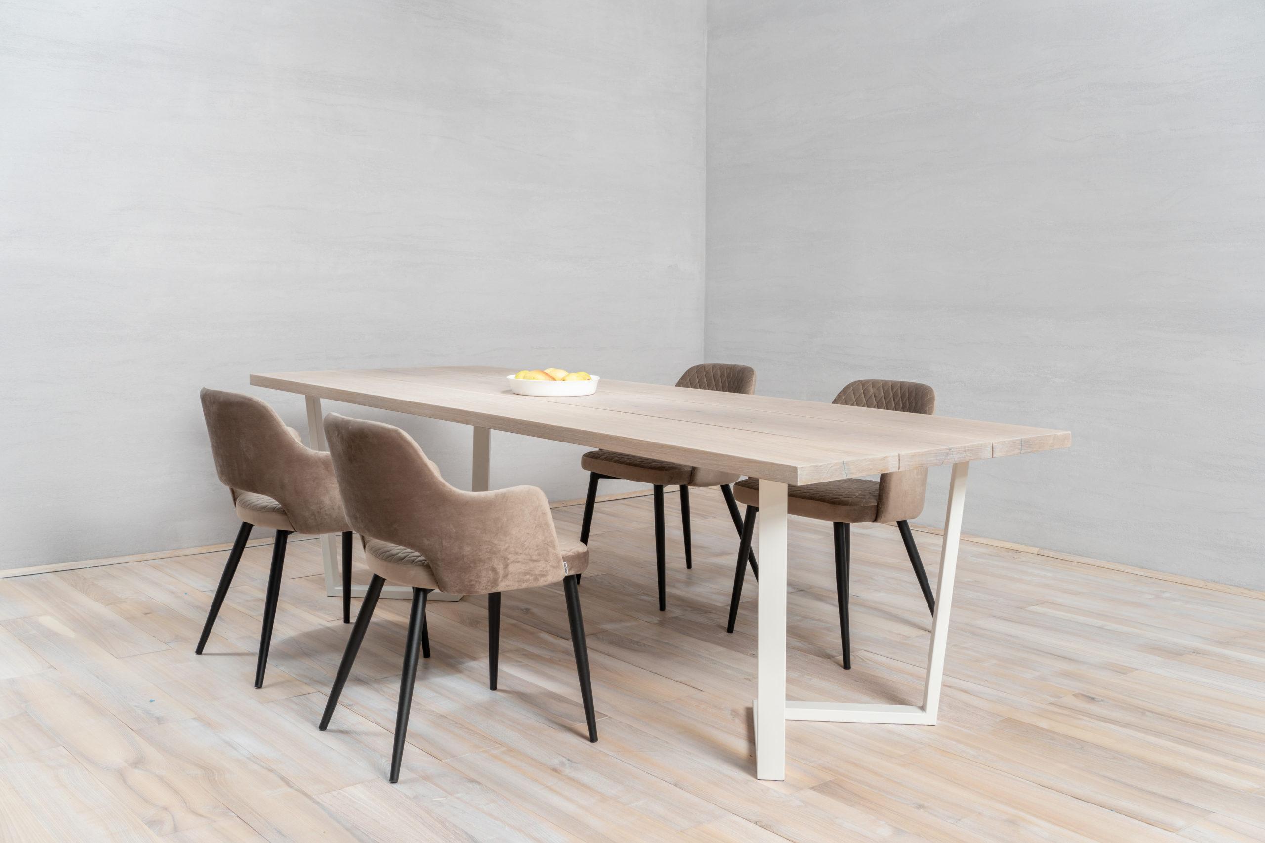 Oak Wood Table Tops 3 planks